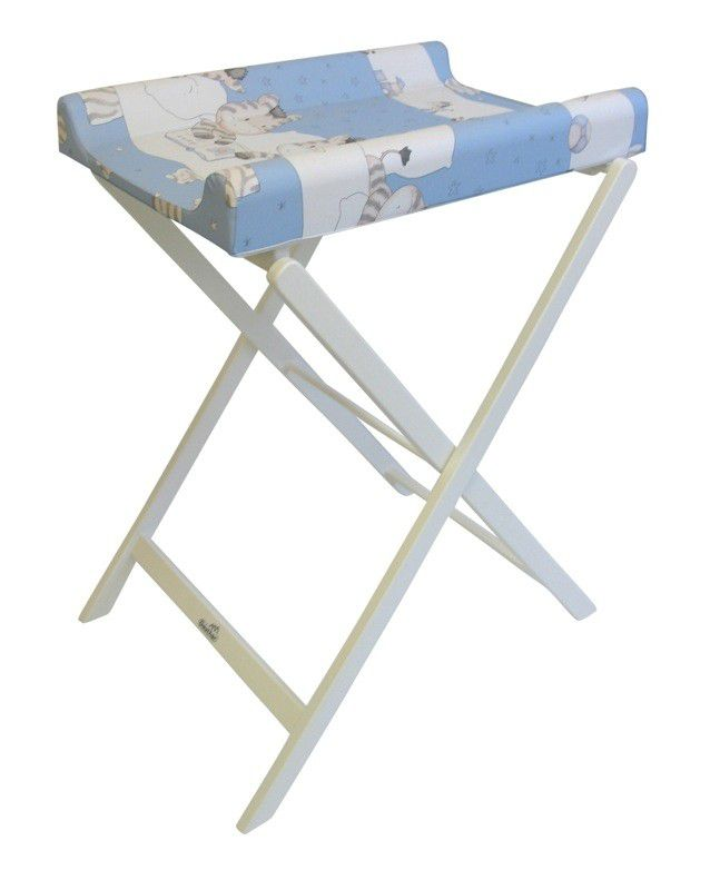RENT White Trixi Changing Table with Geuther Mattress.